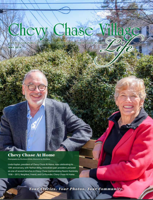 Chevy Chase Village LIfe Magazine Cover Image May 2019