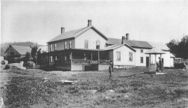 Tahawus Club Lower Works in the 1890s