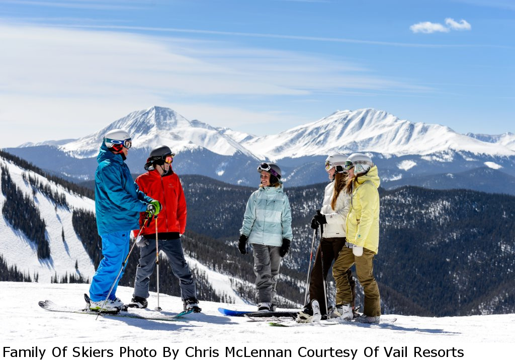 Keystone-Family Of Skiers Photo By Chris McLennan