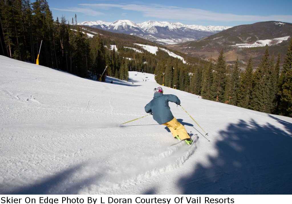 Keystone-Skier On Edge Photo By L Doran