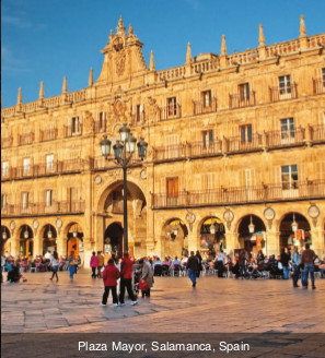 Portugal-Plaza Mayor, Salamanca, Spain