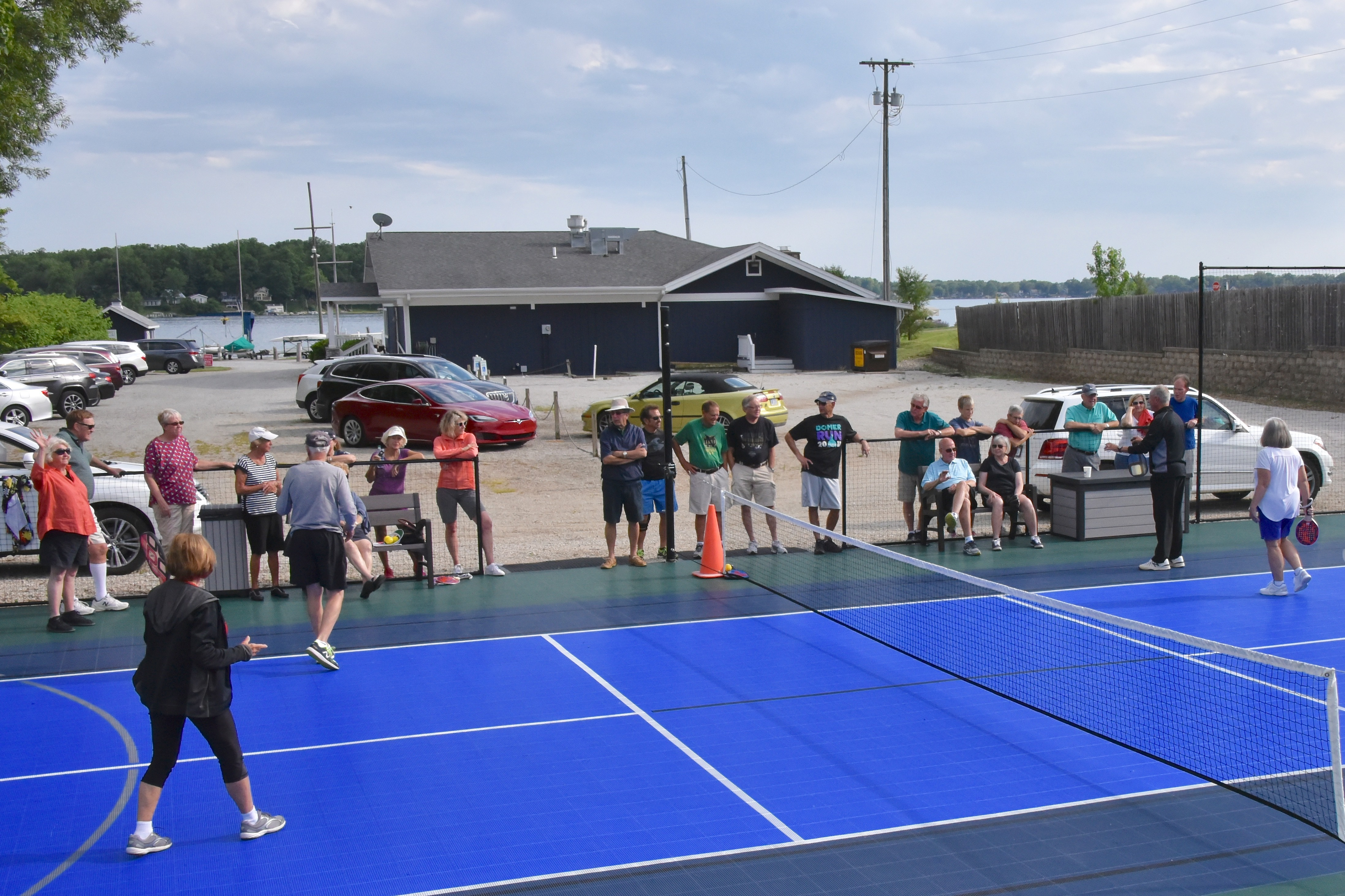 Sports Court Opening 1