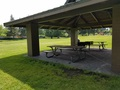 Picture of covered picnic table