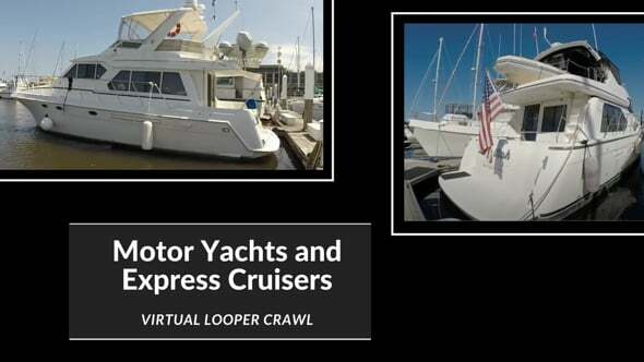 Motor Yachts and Express Cruisers Webinar Graphic