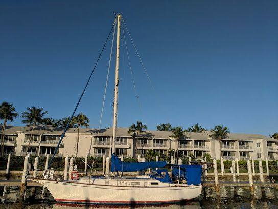 This is the boat we decided on for our new home for the next year or two, three??