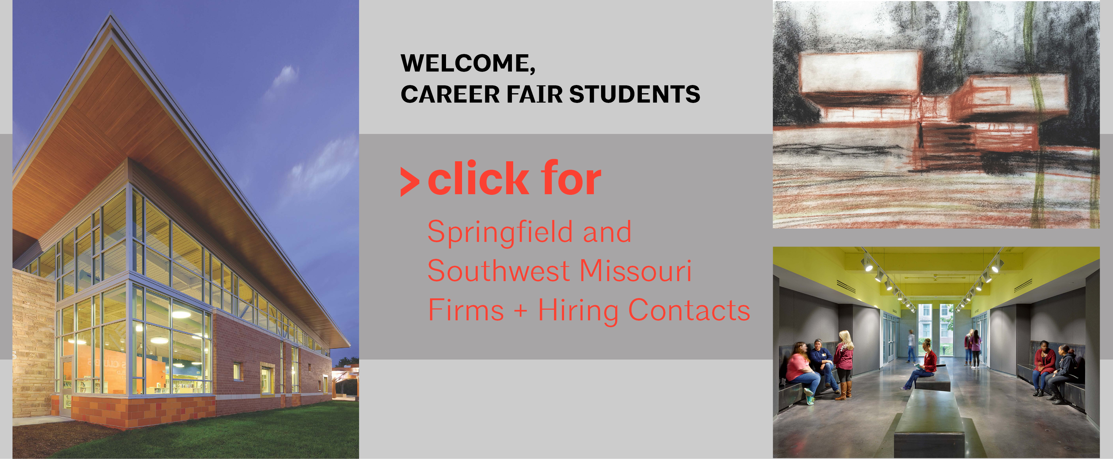 Welcome, Career Fair Students!