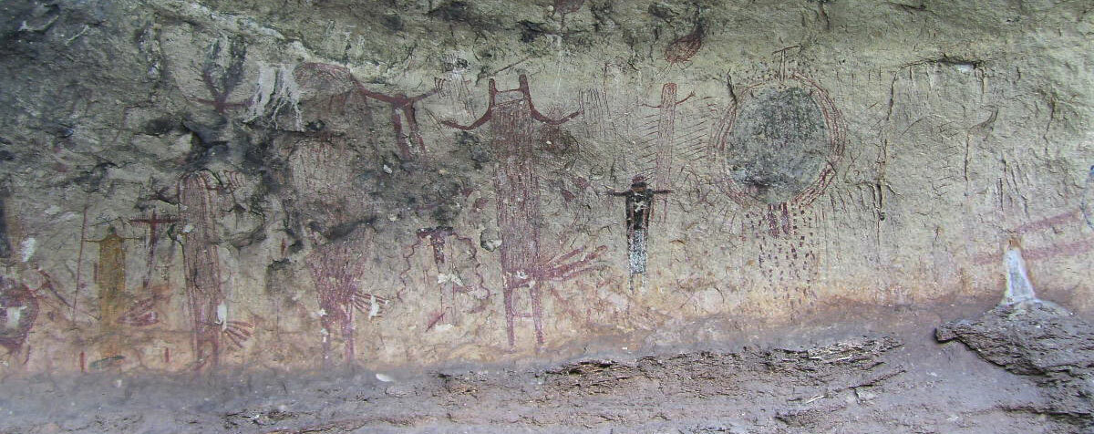 Panther Cave Rock Art