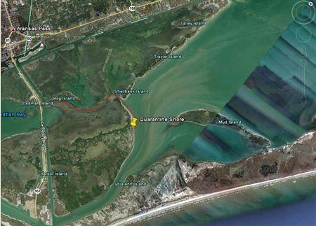 Quarantine Shoreline Aransas Pass Weekend Events