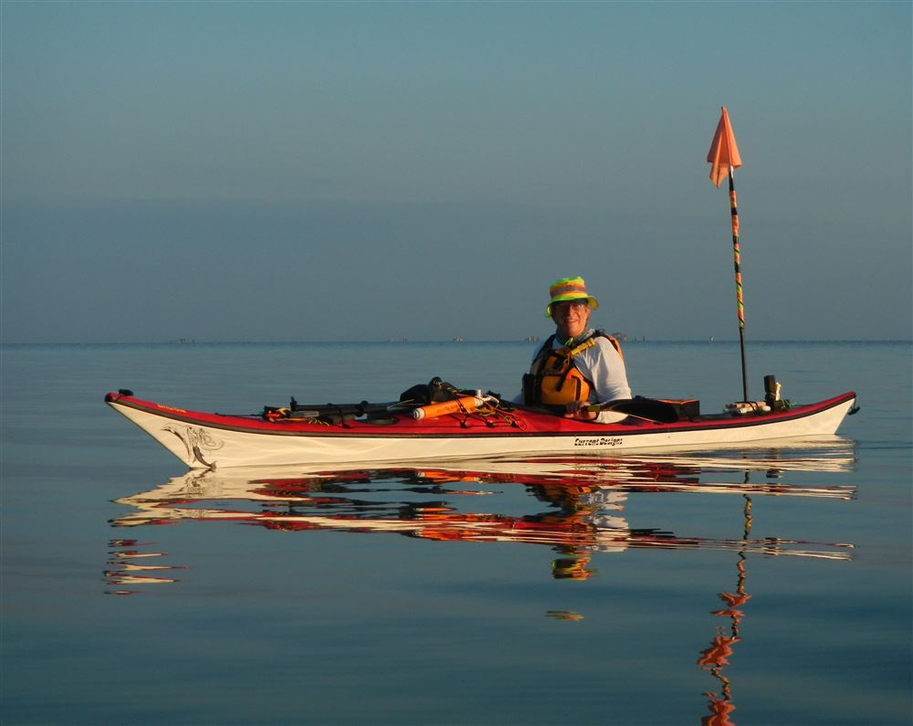 Robin Hartman paddled from Sabine Pass to the Rio Grande in 2014, and I was privileged to join him for several paddle days.