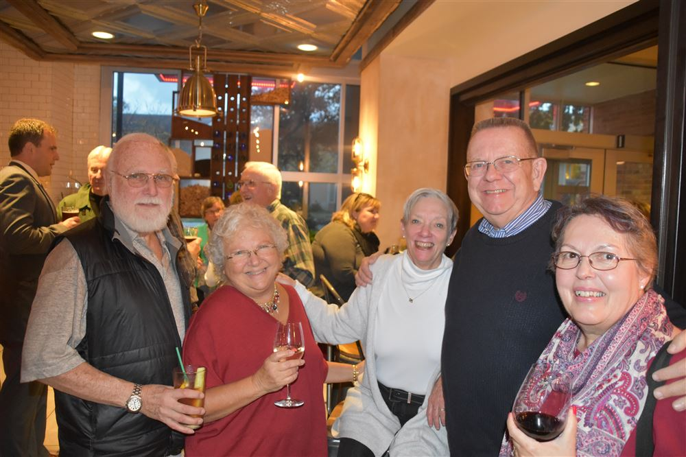LLH members enjoy getting together over coffee, Happy Hour and about town events.