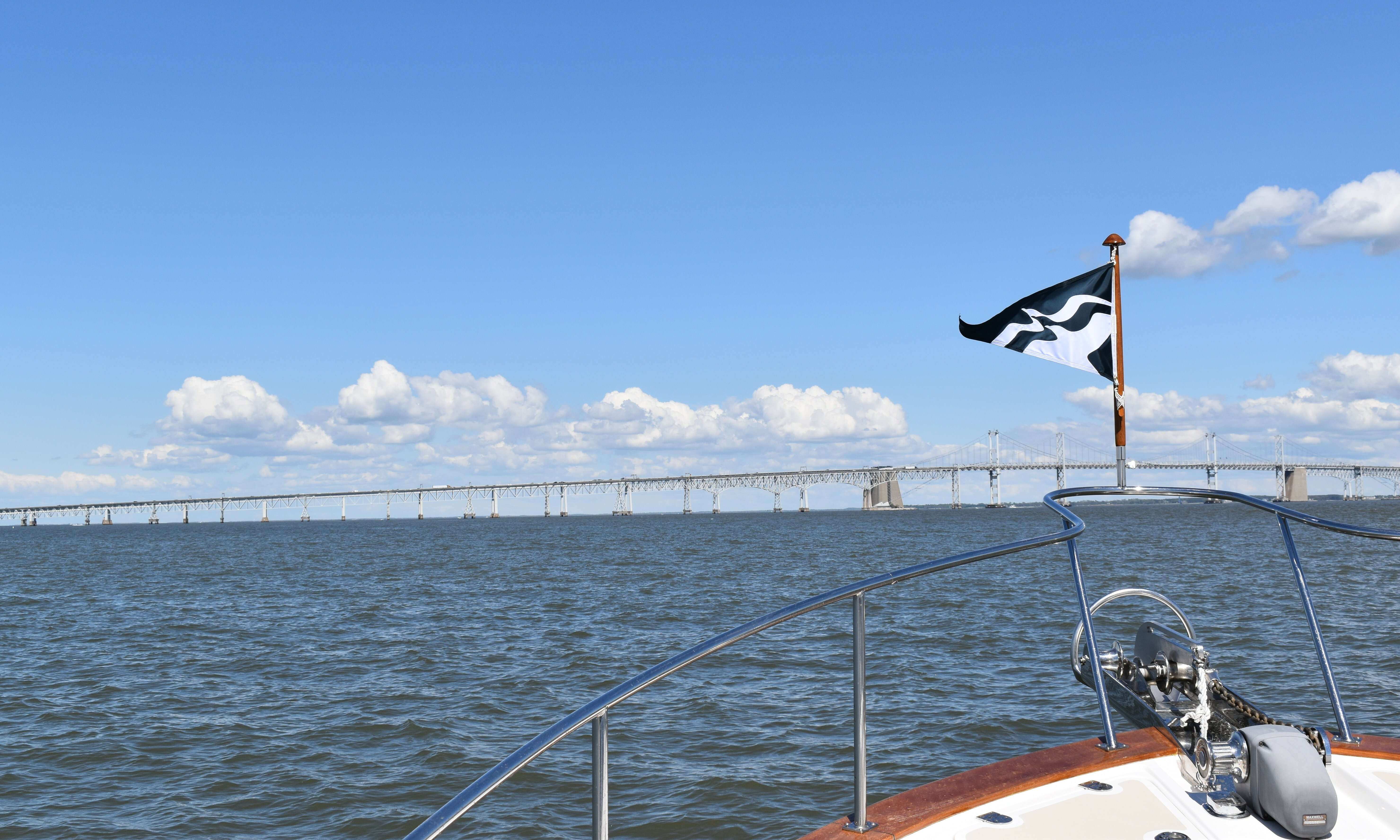 Bay Bridge with Burgee