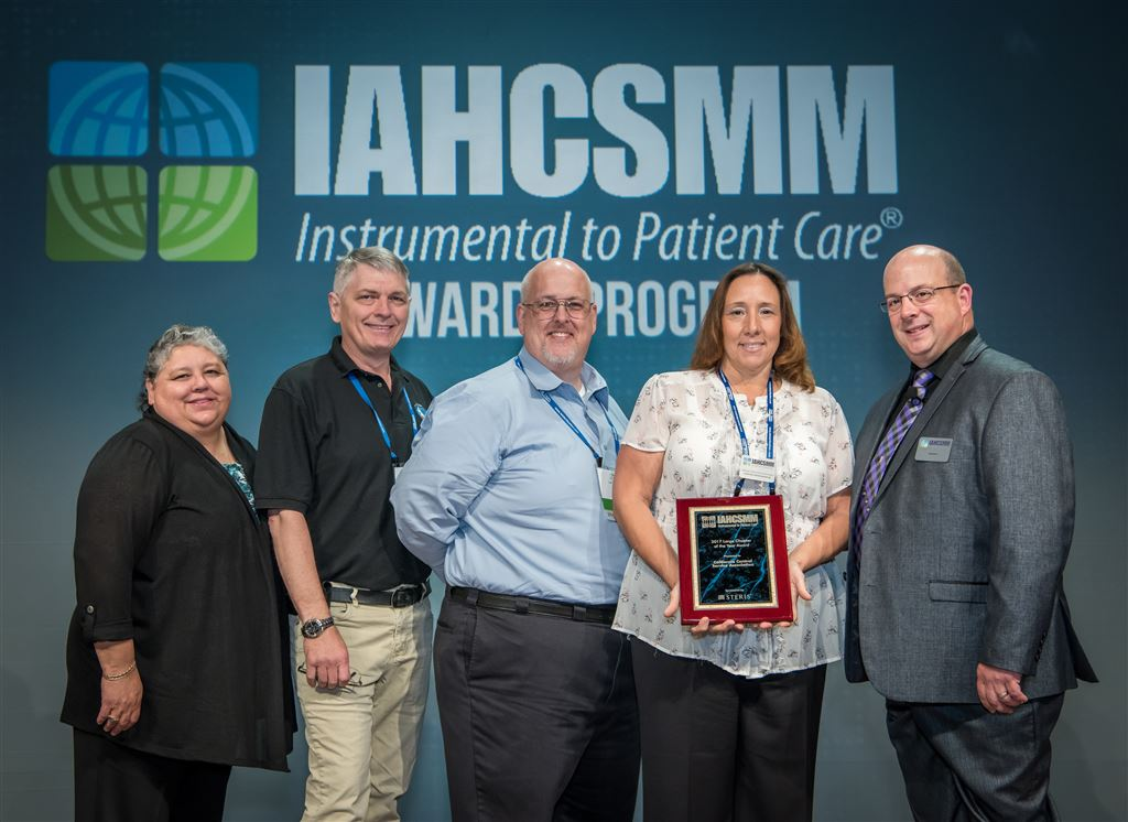 CCSA Won the IAHCSMM 2017 Large Chapter of the Year Award.