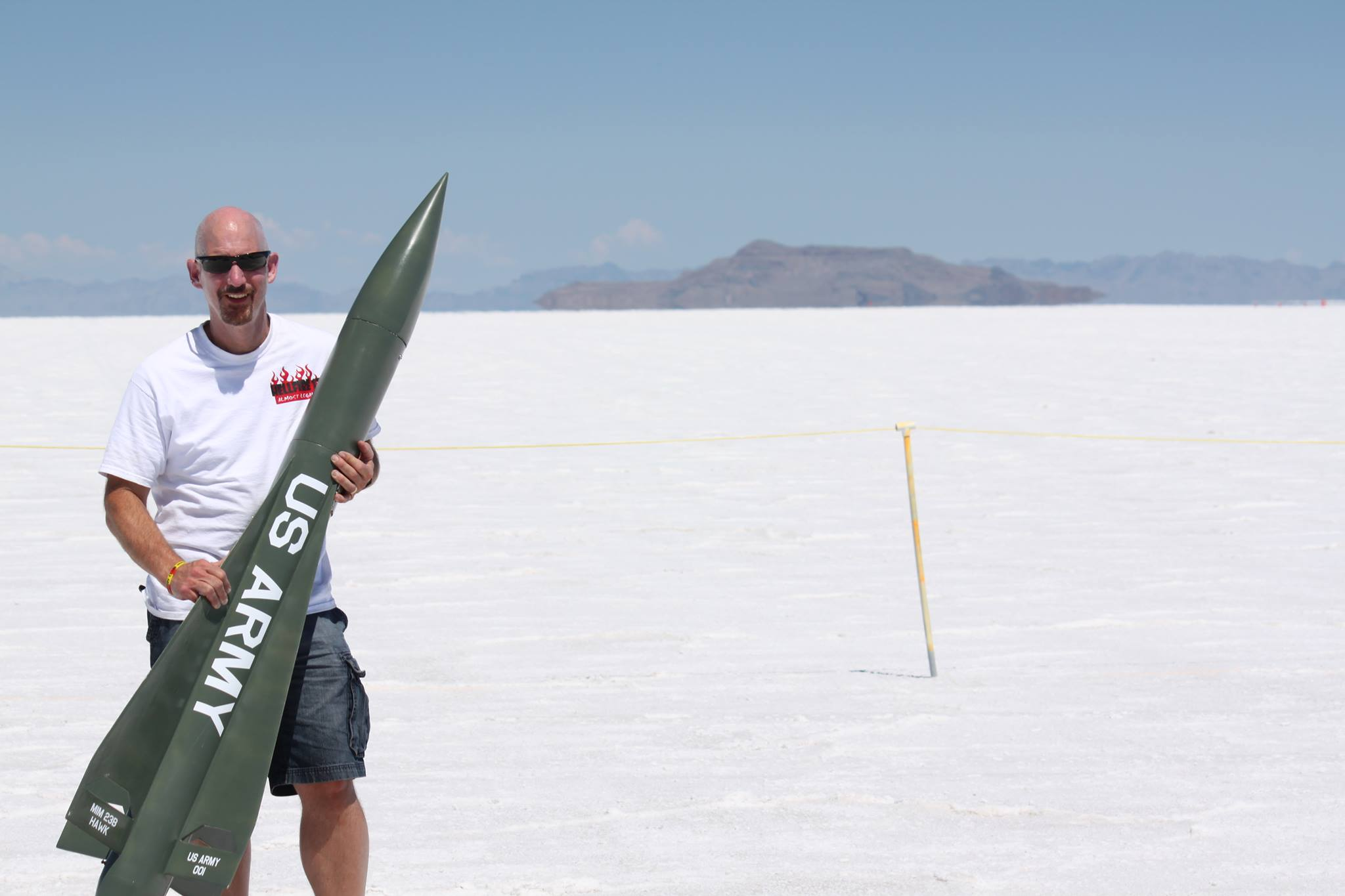 Jack Anderson at Salt Flats