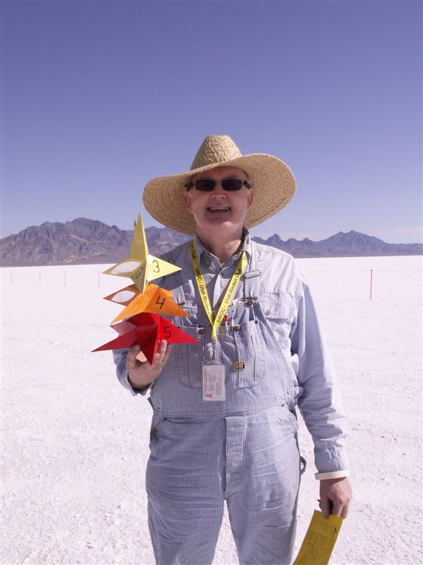 HellFire 16 on Bonneville Salt Flats