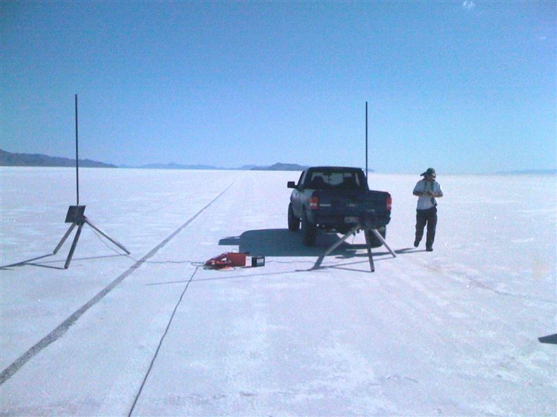 NASA's University Student Launch Initiative took place on the Salt Flats.