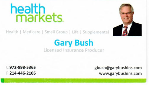 Gary Bush Health Markets Insurance