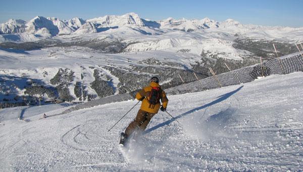Fernando Rovzar at Celebrity Ski Event in Lake Louise ...