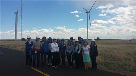 A guided tour of the National Wind Technology Center (NWTC) by NREL staff and a talk during lunch by Chief Engineer at NREL's National Wind Technology Center.