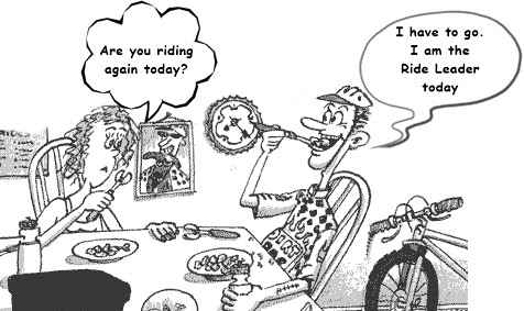 Ride Leader cartoon
