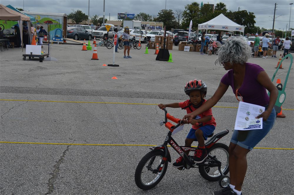 Zone 2 Bike rodeo at Regency Square Mall May 19, 2018