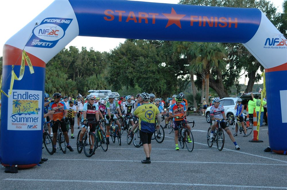 Photos from ride start