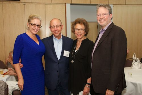 Rabbi Zoe Klein, Paul Irving, Rabbi Laura Geller, Marc Freedman