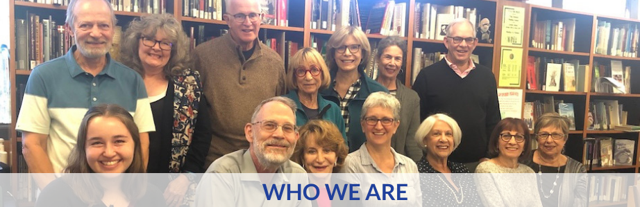 Who We Are Banner Board Photo