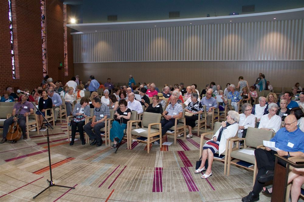 First Anniversary Celebration held at Temple Emanuel of Beverly Hills