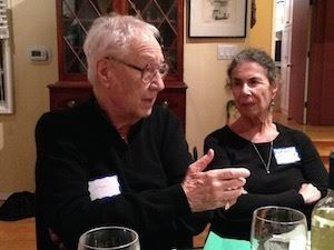 Havdalah Potluck Dinner Held at the Home of Richard Siegel and Rabbi Laura Geller, 5/7/16