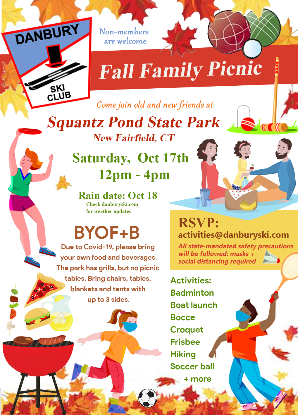 2020 Fall Family Picnic