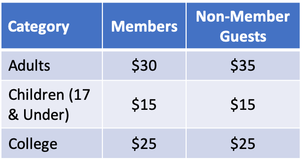 Lodge Pricing 2019-2020 Updated