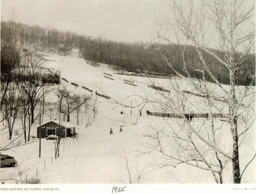 Mad Hatter Ski Slopes, 1955