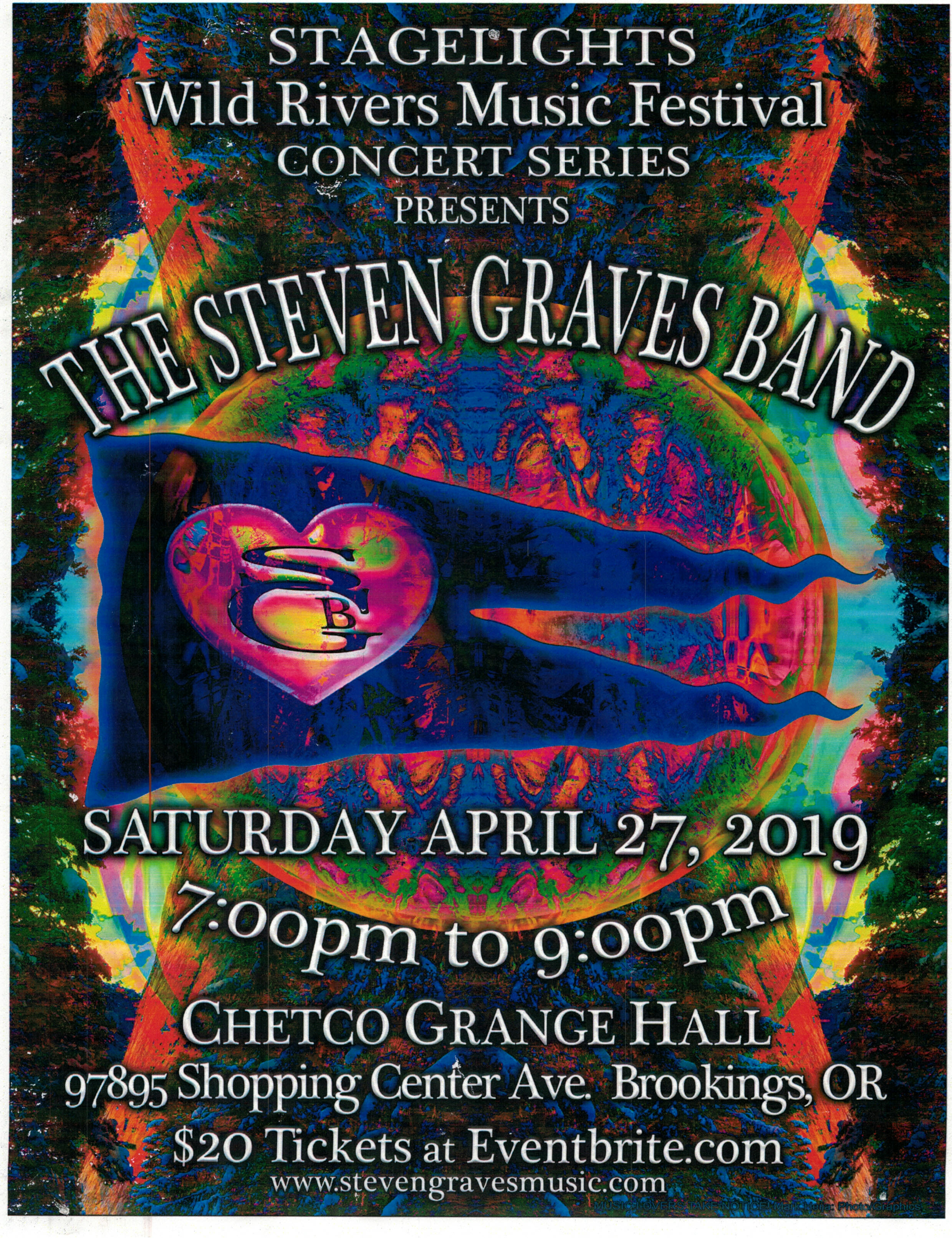 Stagelights-Steven Graves Band
