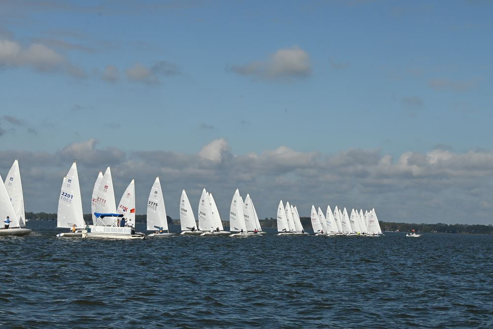 Selected photos captured at the MC Scow Southeast Regional Championship Regatta by John Cole Photography.