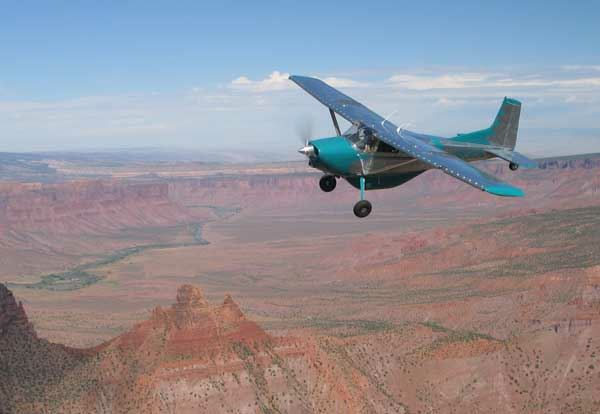 Near the Colorado and Utah state line sits a scenic airstrip high upon the tip of a mesa. Located West of Gateway Colorado, Dolores Point challenges most pilots and aircraft.