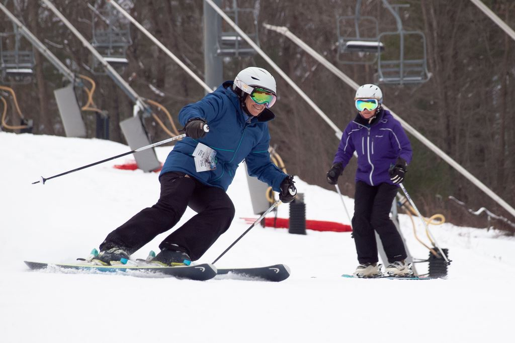 Ski racing clinic at Bryce Resort