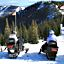 Snowmobiling at Schweitzer