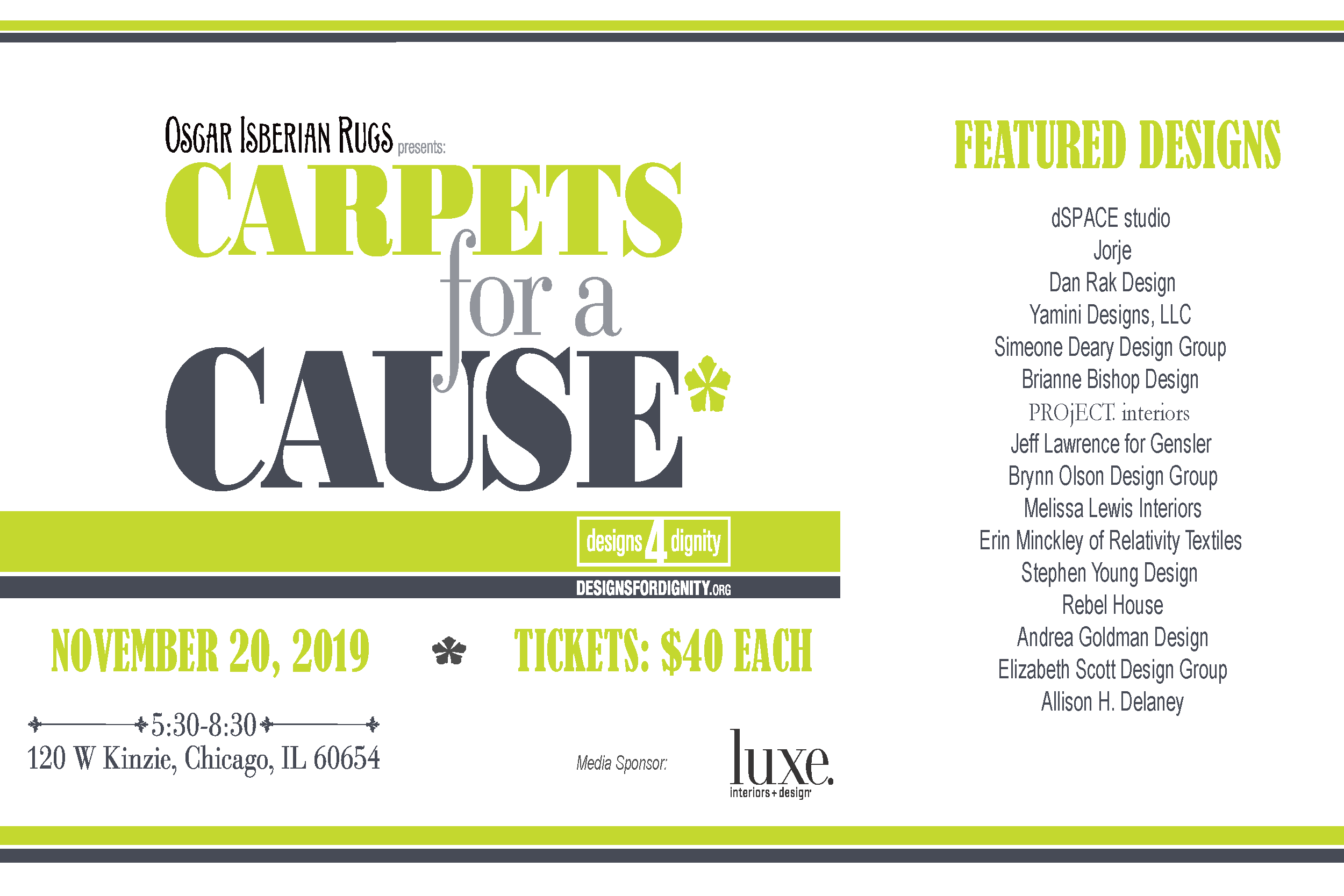 Carpets for a Cause