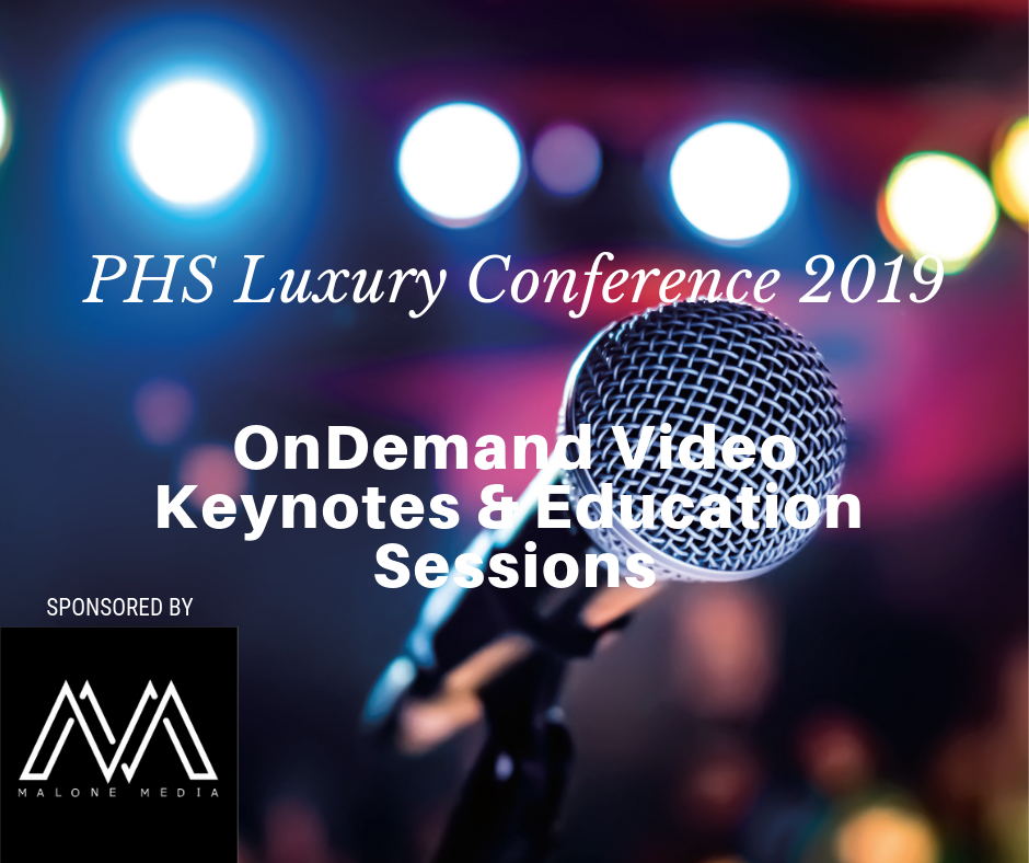 Luxury Conference OnDemand