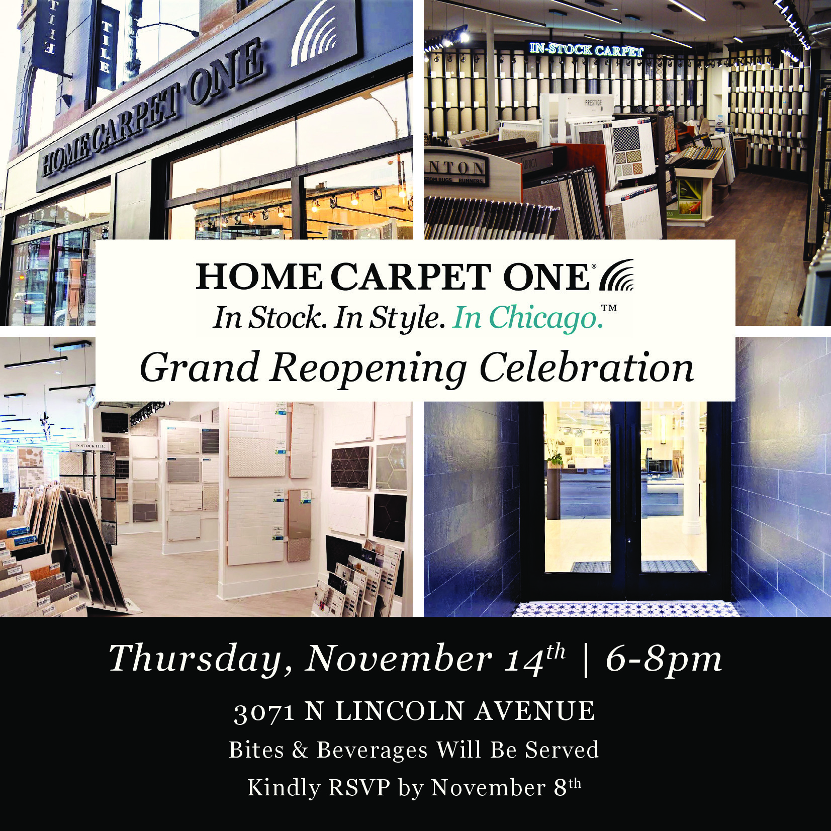 Home Carpet One new showroom event