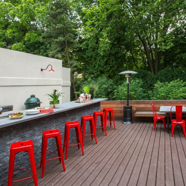 Michael Norpell Outdoor Kitchen