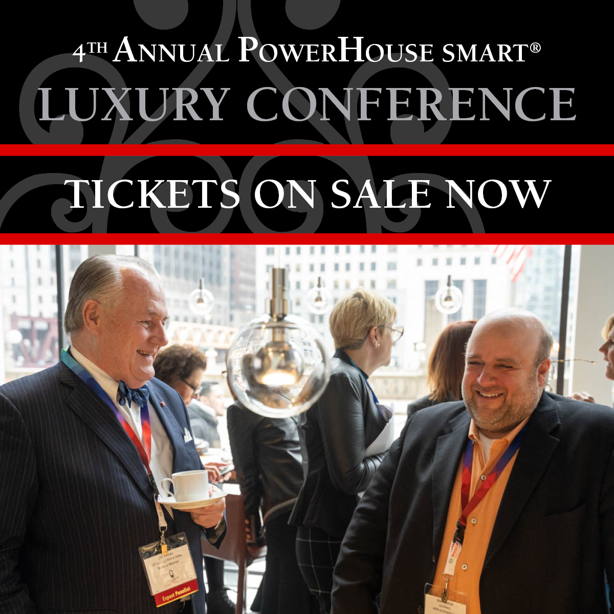 Luxury Conference Tickets