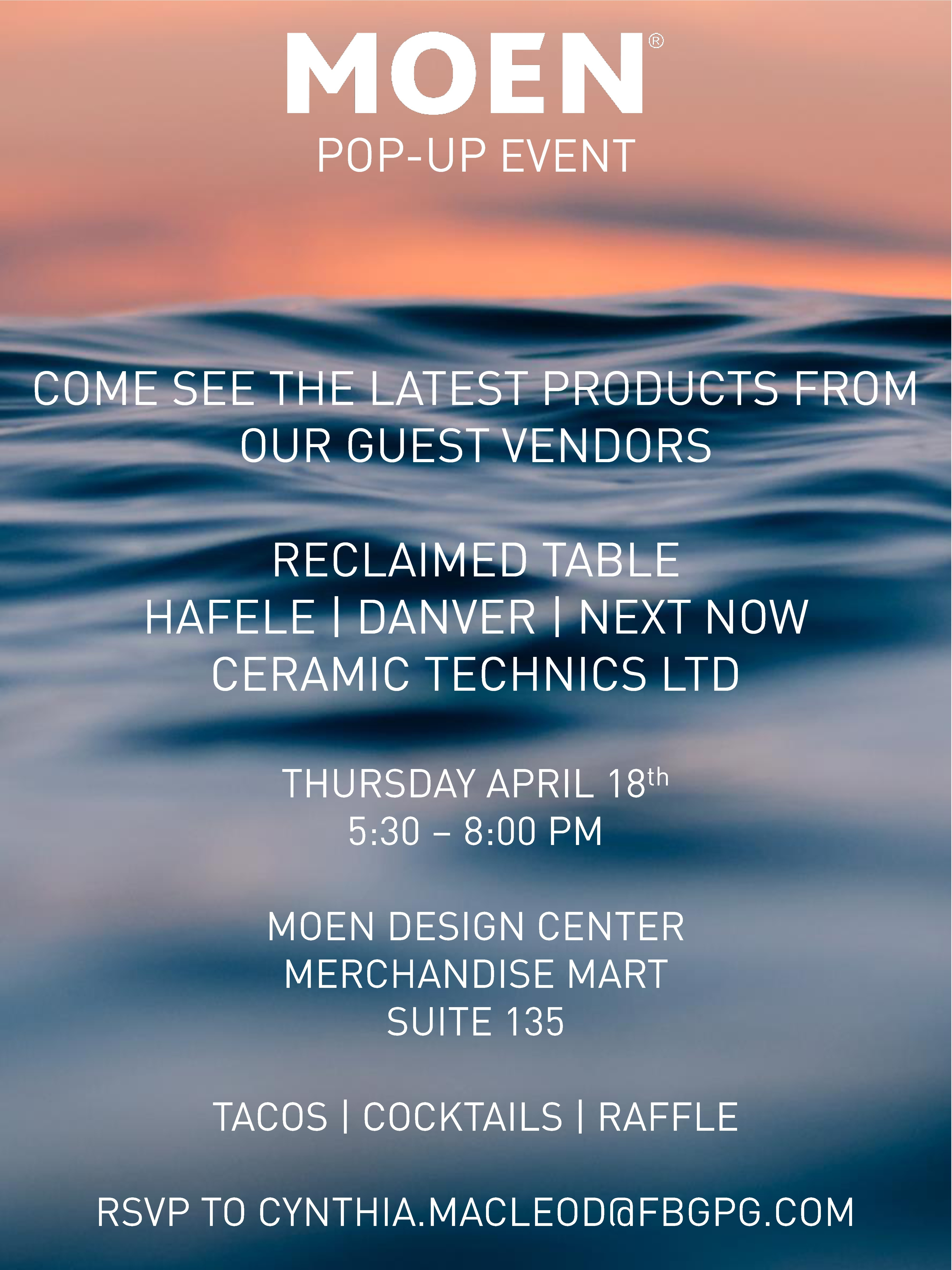 Moen Pop-Up Event