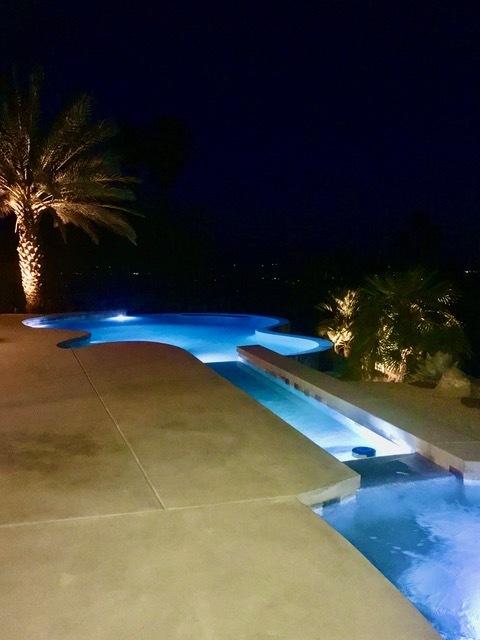 Staci Munic, swimming pool