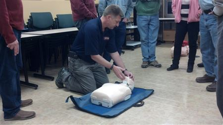 Photos taken at the 2014 EFR Class