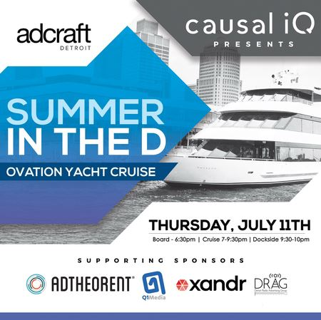 This annual sell-out event is not only a great party and networking opportunity with Detroit's advertising influencers and thought leaders, but all proceeds go to the Adcraft Scholarship Fund.