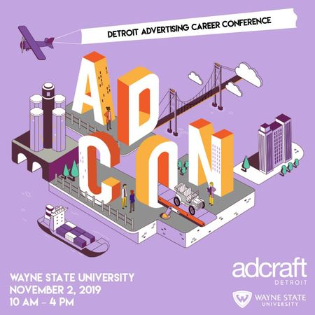 Now in its 27th year, AdCon is a one-day conference in the fall where several hundred college students and young professionals learn about the industry and discover a variety of career options.