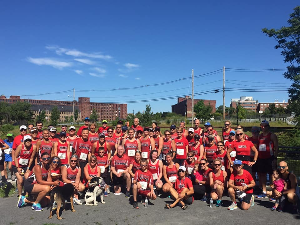 2019 Greenway 5K - Group photo at Ferrous Park