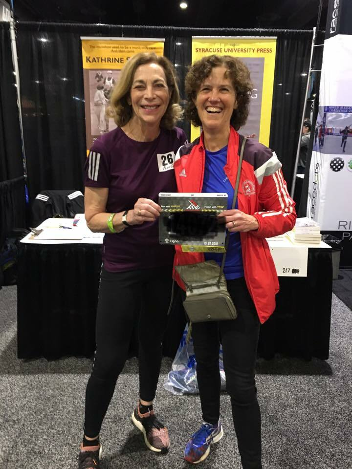 Maura and Kathrine Switzer