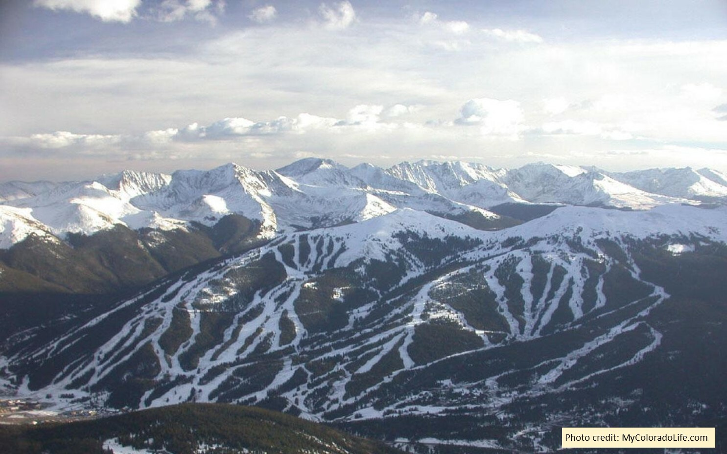 Copper Mountain Aerial Shot